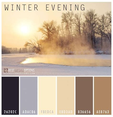 winter color schemes winter color palettes winter colors and color palettes on