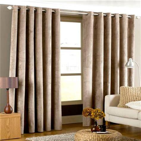 velvet eyelet curtains imperial velvet woven lined eyelet curtains ebay