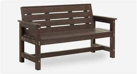 pvc benches buy benches now recycled durable eco plastic wood