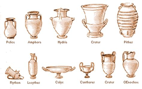 the vases of the goddess athena