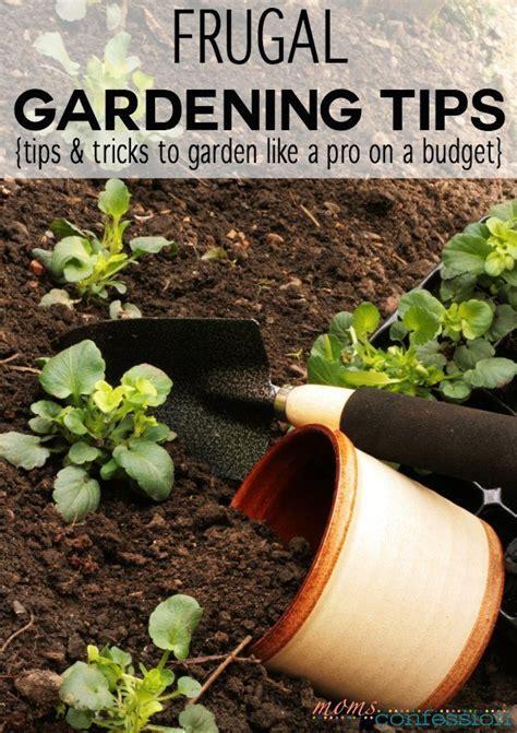 Gardening Tricks Frugal Gardening Tips Tricks To Garden Like A Pro