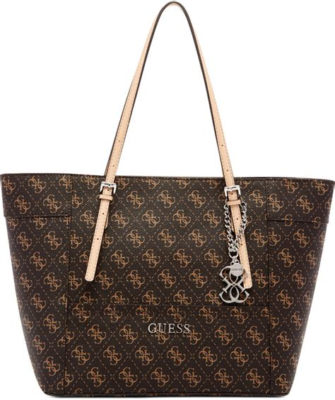 Tas Guess Delaney Denim Bag guess delaney signature small classic tote where to buy how to