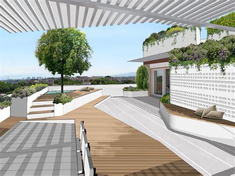 design terrazzi un terrazzo con vista foto living