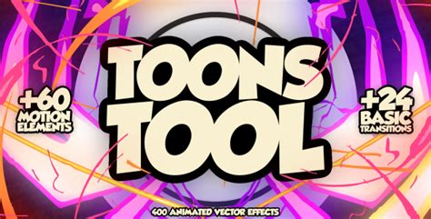 Dvd Koleksi 400 After Effects Project Files And Templates toonstool fx kit after effects template videohive