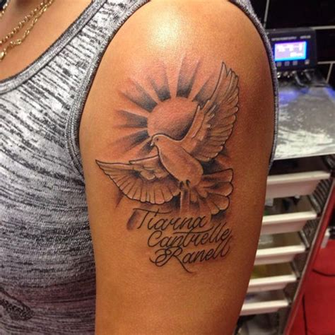 65 stunning dove tattoos that will bring a smile to your face