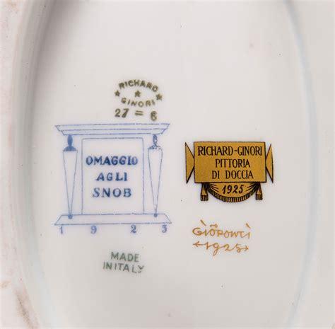 richard ginori pittoria di doccia gio ponti 1891 1979 richard ginori pittoria di