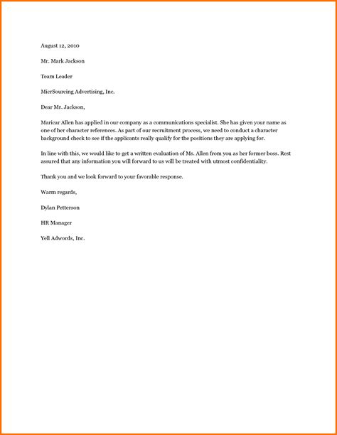 example of reference letter from employer granitestateartsmarket