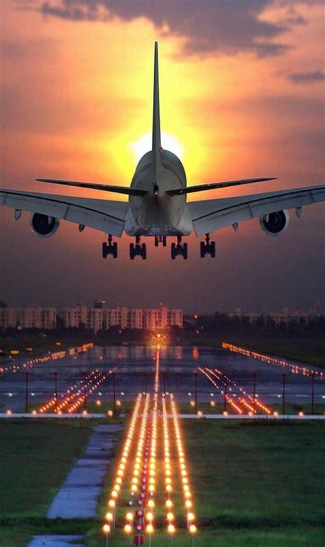 aircraft landing  airport wallpaper  desktop