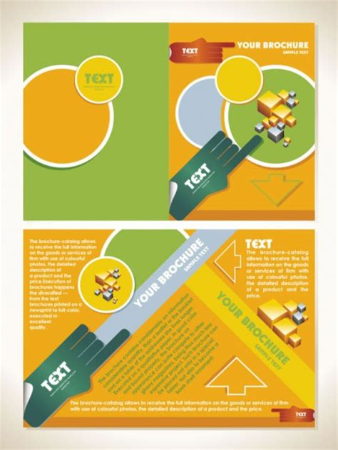 brochure layout design template vector 30 free brochure vector design templates designmaz
