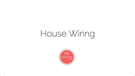 how house wiring works