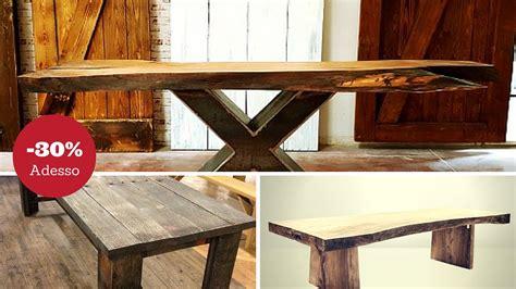 tavoli in legno tavoli da pranzo in legno massello