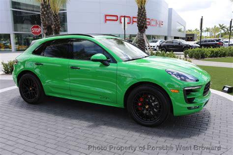 porsche viper green dealer inventory pts viper green 2017 macan gts rennlist