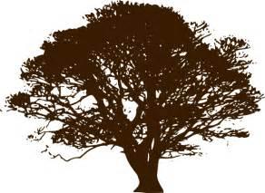 brown tree clip brown wedding tree clip at clker vector clip