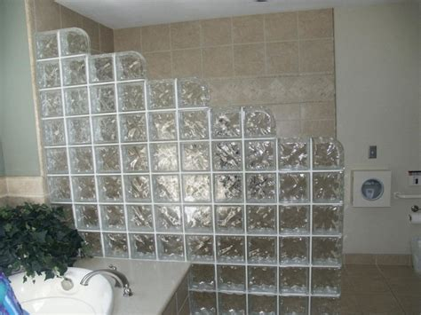 Kitchen Partition Wall Designs by Interior Gorgeous Bathroom Design With Glass Block Room