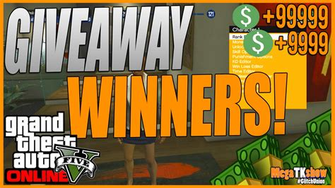 Gta 5 Giveaway - gta 5 online modded account giveaway winners gta 5 online mods youtube