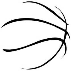 Clipart Outline by Basketball Clipart Outline Clipartsgram