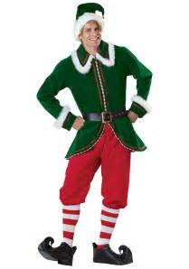 mens christmas elf costume christmas costumes for adults