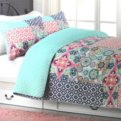 cynthia rowley bedding queen cynthia rowley patchwork queen quilt 3pc set polka dot