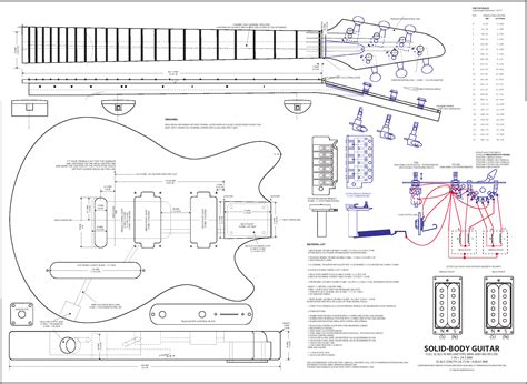 door from wood guitar plans prs info