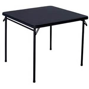 square folding table black furniture walmart