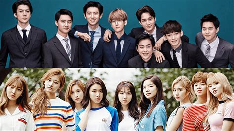 exo and twice exo and twice top music sales on gaon s annual chart