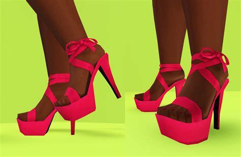 sims 4 platform heels mod the sims i wanna see some cash platform heels
