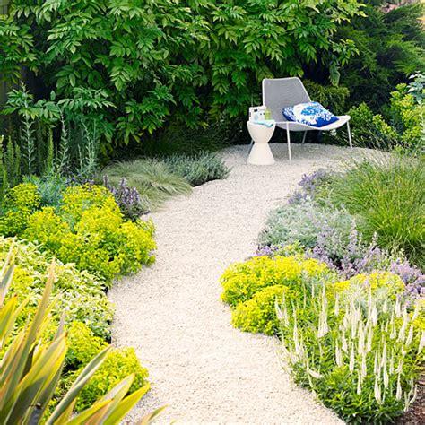 creating a backyard garden create an enticing garden path sunset