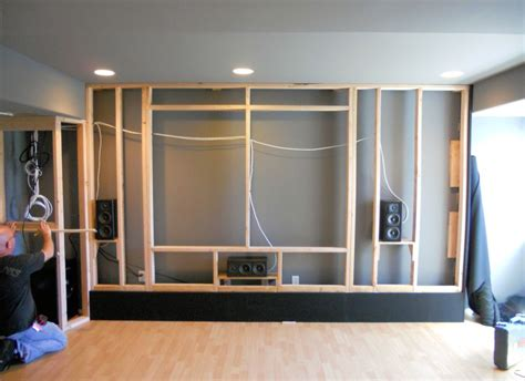 home theater screen wall design a custom acoustically designed screen wall by theater