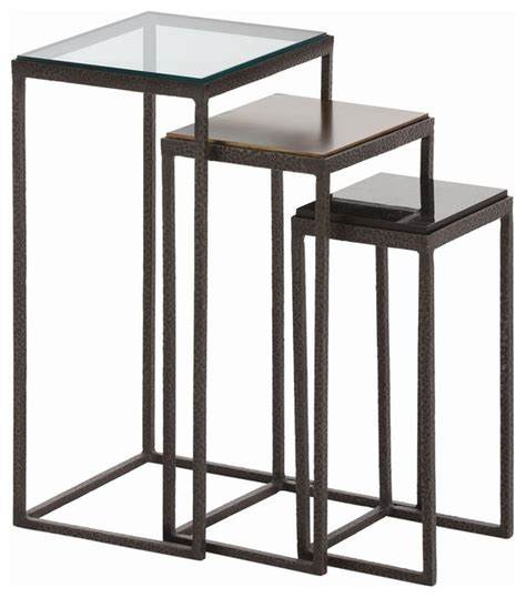modern round end table collection in modern accent table knight small accent tables set of 3 modern side
