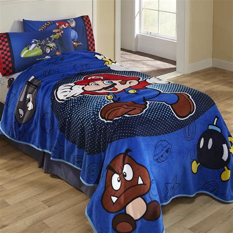 nintendo bedding nintendo super mario twin comforter home bed bath