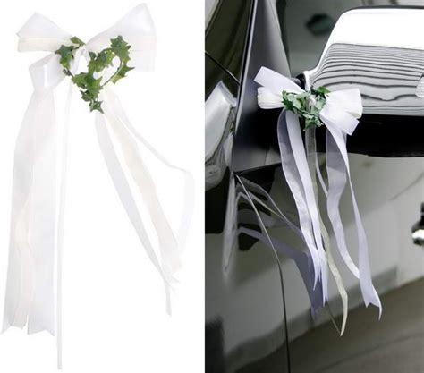 Dekoration Hochzeit Günstig Autoschleifen F 195 188 R Die Hochzeit Nach Anleitung Selber Basteln