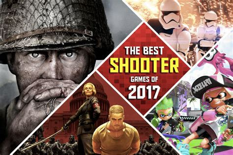 best shooter ps4 xbox and nintendo switch gift guide 2017 the