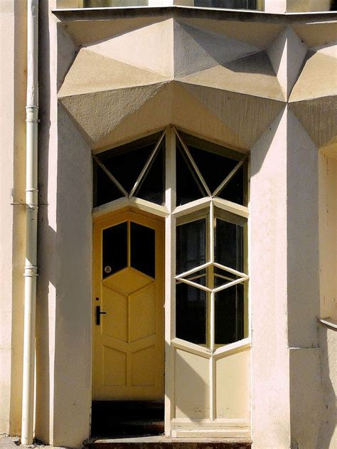 cubism architecture pinterest this corner apartment block was constructed between 1913