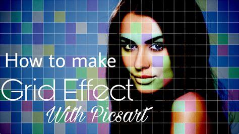 cara edit foto levitasi edit foto cara membuat efek grid kotak color di picsart