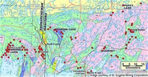 tartan lake map image mining technology