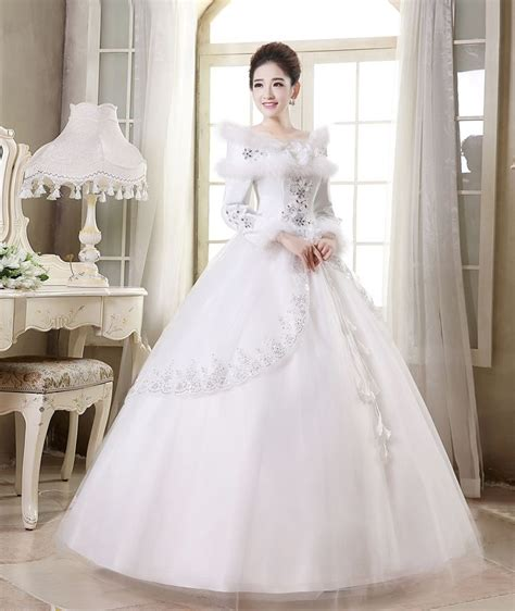 Gaun Pengantin Bridal Wedding Dress Model 4 With jual wedding dress gaun pengantin lengan panjang kerah