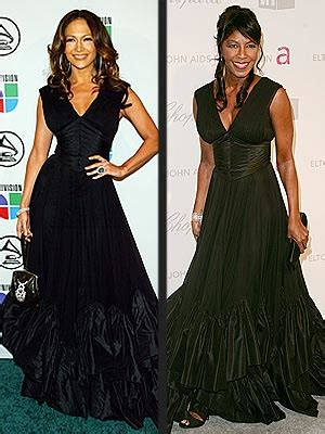 Who Wore Zac Posen Better Natalie Cole Or Dion by Fashion Faceoff Vs Natalie