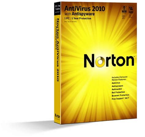 Beautiful Useful New Security Product From Norton by Norton Antivirus 2010 1 User Version Import It All