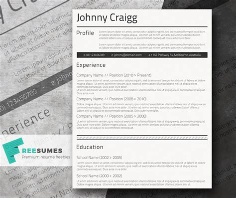 Simple Cv Template Free by Simple Cv Template For Free Shades Of Black Freesumes