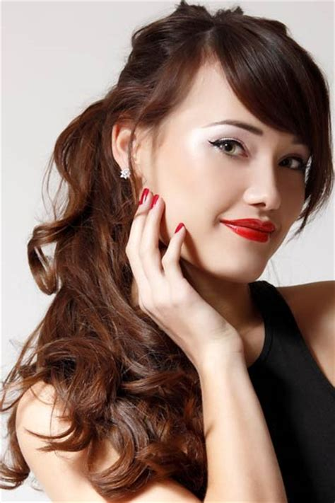hair styles easiest to care for how to style and care for coarse thick hair women hairstyles