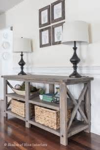 House Entry Furniture 25 Best Ideas About Rustic Sofa Tables On