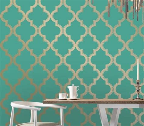 removable wallpaper clean marrakesh honey jade designer removable dorm room