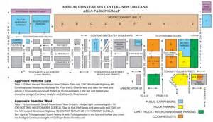 La Convention Center Floor Plan maps amp parking res con new orleans res con new orleans