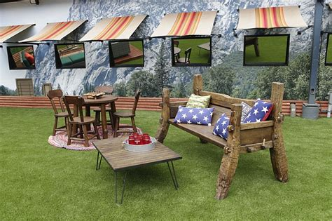 big brother backyard big brother 18 backyard sitting area big brother network