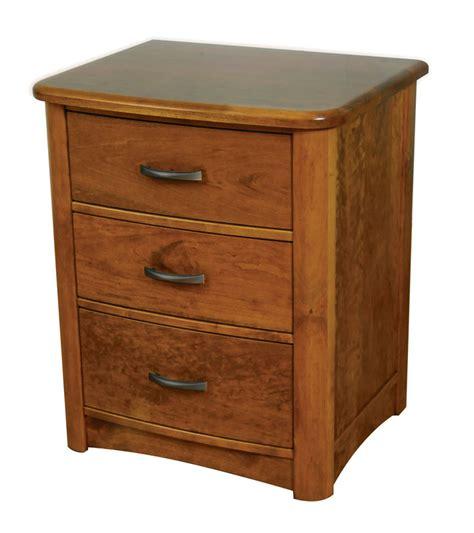 3 Drawer Nightstand meridian 3 drawer nightstand ohio hardwood furniture
