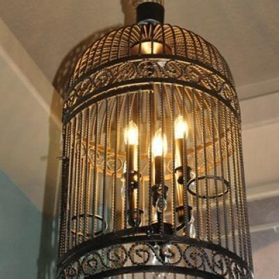 Diy Birdcage Chandelier 1000 Ideas About Birdcage Light On Vintage Bird Cages Birdcages And Birdcage