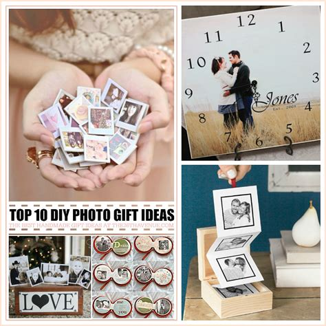 Handmade Photo Gifts - top 10 handmade gifts using photos the 36th avenue