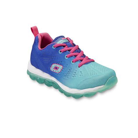 skechers girls skech air laser light multicolor athletic shoe