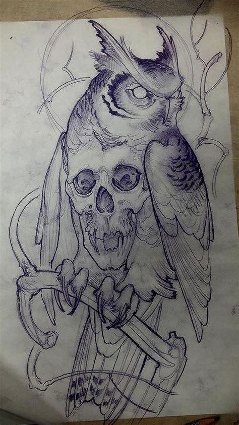 owl tattoo design drawing owl tattoo design visit artskillus ru for more tattoo