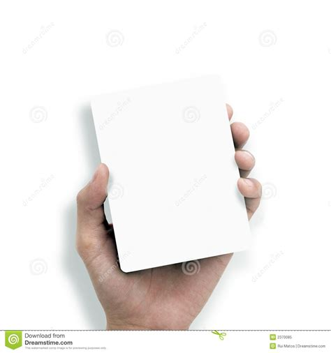 How To Make Paper Holding - holding white paper royalty free stock photo image
